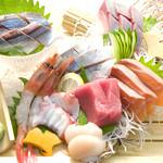かんきち - 料理写真:本日の刺身盛り合わせ
