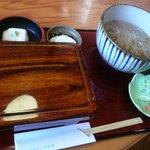 いづみや - 江戸前活うなぎ蕎麦膳(限定20食)