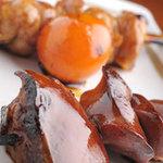バード・スペース - 料理写真:店長イチ押し 肝レバー と ちょうちん焼き