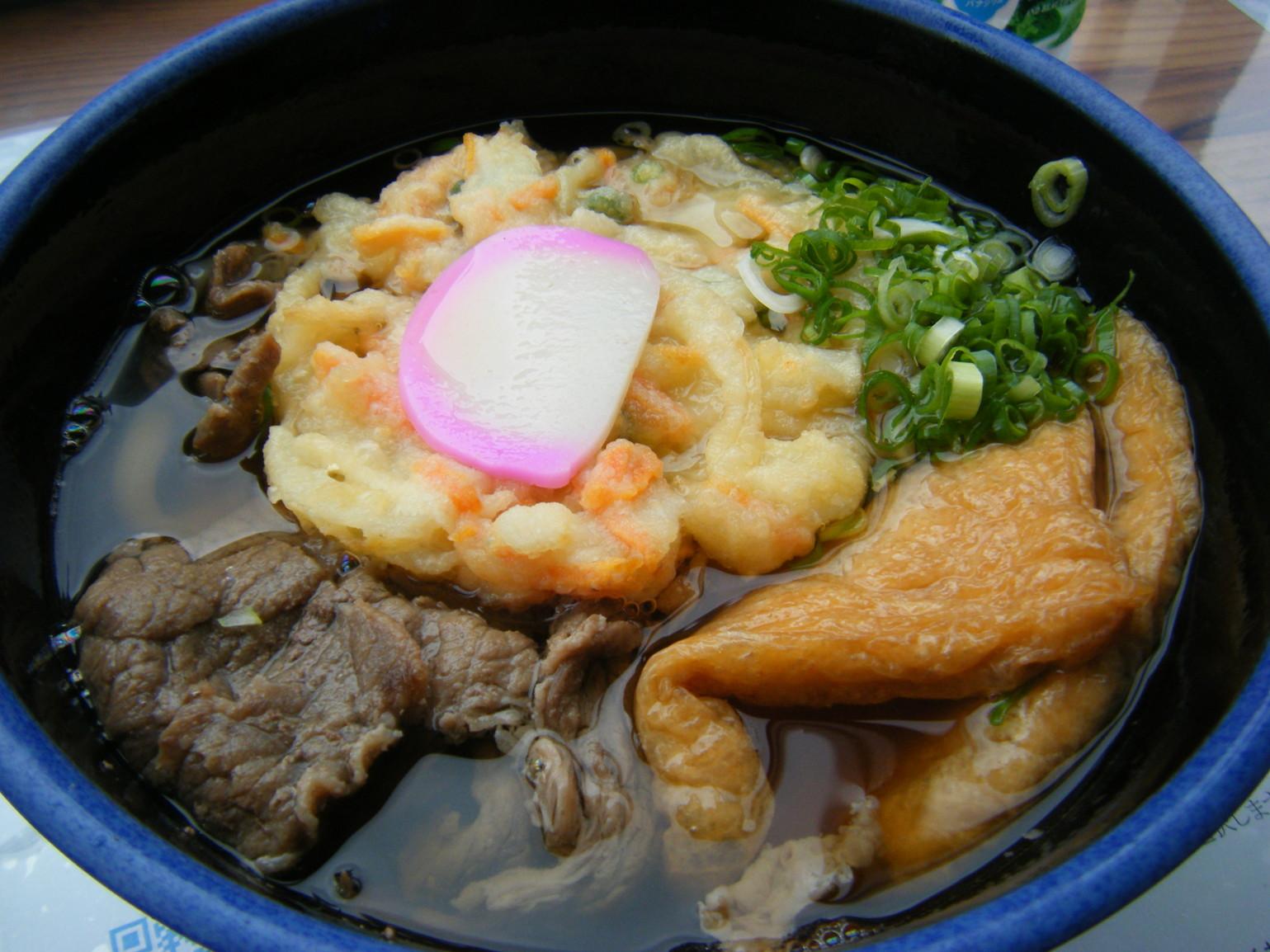 道の駅 杉の湯川上 麺コーナー