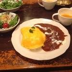 カフェ デラ ドンナ - 特製オムハヤシ
