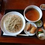 大正庵 - 料理写真:2014年5月11日 もりそば600円+そば稲荷100円