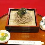 和食処 梵 - ざるそば(780円)