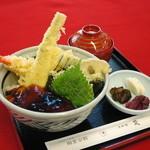 和食処 梵 - 天丼(980円)