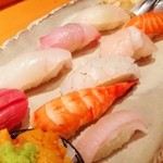 極ダイニング清水 - 晩御飯は、寿司の盛り合わせなどなど!(^ー^)ノここの和食は相変わらず美味い!( ̄▽ ̄)
