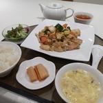 竹琳 - 昼数量限定、鶏とコーンのころころ炒め。(税込1,080円)