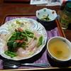 カフェ ギャラリー 美蔵 - 料理写真:季節の野菜と生ハムのパスタ¥880