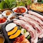 ヘルシー韓友家 - サムギョプサル食べ飲み放題コース