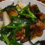 とりの樹 - 鶏レバニラ炒め