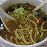 カレ吉 - 野菜カレーうどん