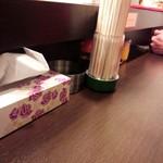 菜香餃子房 - カウンター