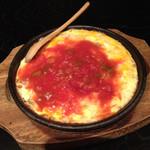 芋んちゅ - チーズとスパムのキッシュ仕立て