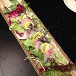 芋んちゅ - 桜鯛のカルパッチョ
