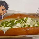 パニーチェ 原宿竹下通り店 - 抹茶ソースのアイスドッグ
