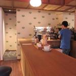 CAFE KITSUNE - 店内1