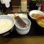 神戸らんぷ亭 - 牛鮭定食