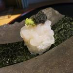 みや - 26年5月 富山白海老とキャビア寿司