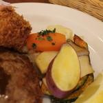 キッチン ノム - 付け合せの野菜