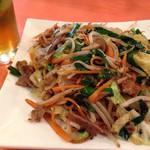 長浜食堂 - 肉野菜炒め