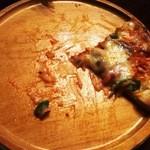 うすけぼー - ピザ、危うく写真取り忘れるところだった