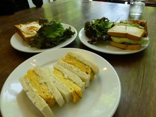 エルマーズグリーンカフェ - 2014年5月卵サンド 単品注文です。