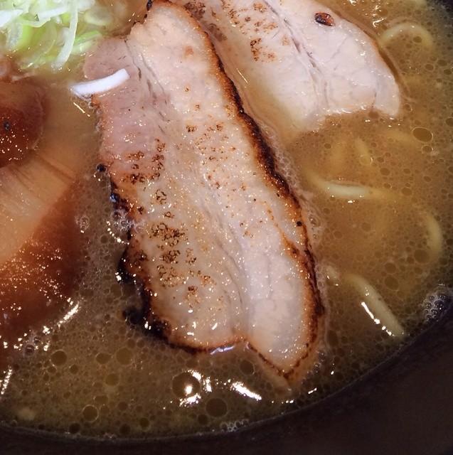 東座 - 鶏白湯ラーメン アップ
