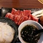 27189221 - 焼きしゃぶクイック定食 800円 2014.05.
