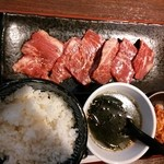 27189249 - ジューシー上サガリ定食 900円 2014.05.