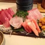 居酒屋 ふなき - 料理写真:刺身盛り 2人前