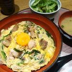 うにしゃぶ 寿司割烹 はながこい - ニラレバ親子丼(大盛無料) 950円