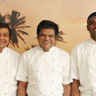 インド・スリランカの一流のシェフによる競演