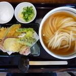 はるりん - ひやかけ&天ぷらセット(H26.5.11)