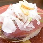 回転寿司喜楽 - カツオたたき¥160☆♪