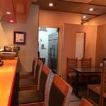 ガラシャ - カウンター&テーブル席