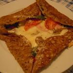 ルマロン - 本日のガレット(大葉、ハム、チーズ、トマト)