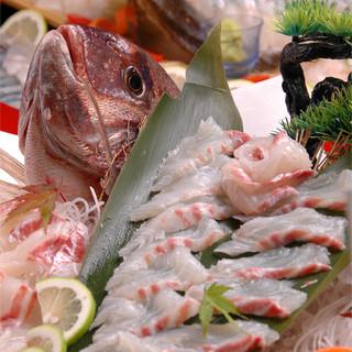 旬の鮮魚をリーズナブルな価格でご提供いたします♪