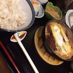 コペ - メンチカツ煮定食750円