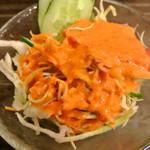 MILAN - シェフのおすすめセットのサラダ
