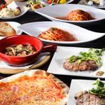 カサドールキッチン - 料理写真:カサドールローマコース(2H飲み放題付)3000円