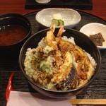 天ぷら 和楽 - 特製天丼