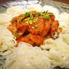 韓国料理Kim's - 料理写真:韓国定番のおつまみ、キムチ素麺。