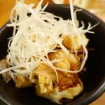 かこい - カマンベールチーズの葱醤油
