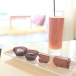 カカオ マジック - 料理写真:Raw Chocolate Bliss 至福のチョコレート時間 (1620円)