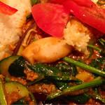 タルカリ - つくば野菜がたっぷり(♡ >ω< ♡)