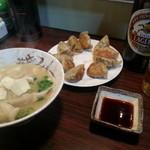 三吉 - 焼き餃子&ギョーザ汁