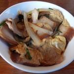 おきなわんcafeちゅらかーぎ - ミニ三枚肉丼