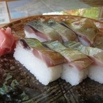 27206075 - 極上鯖寿司(半分)