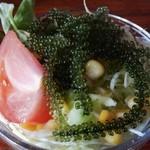 おきなわんcafeちゅらかーぎ - ミニちゅらサラダ