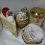 サロン・ド・テ・シュクル - 料理写真:ケーキたち