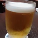 力士料理 琴ヶ梅 - 生ビール:580円